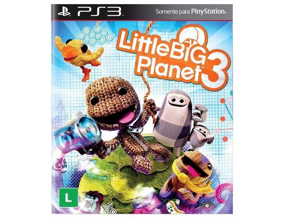 Jogo Littlebig Planet 3 Ps3 Midia Digital Codigo Psn Play 3