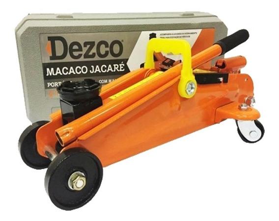 Macaco Hidraulico Jacare 2 Toneladas + Maleta - Dezco