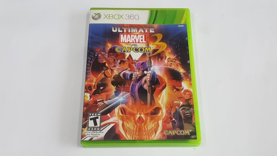 Jogo Ultimate Marvel Vs Capcom 3 - Xbox 360 - Original
