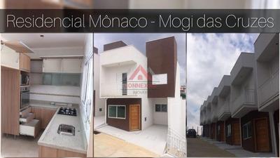 Condomínio De Sobrados Em Mogi Das Cruzes - Residencial Mônaco - So0345
