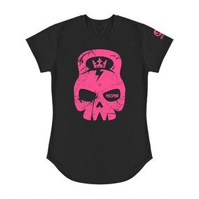 Camisa Misspink Miss Skull Black