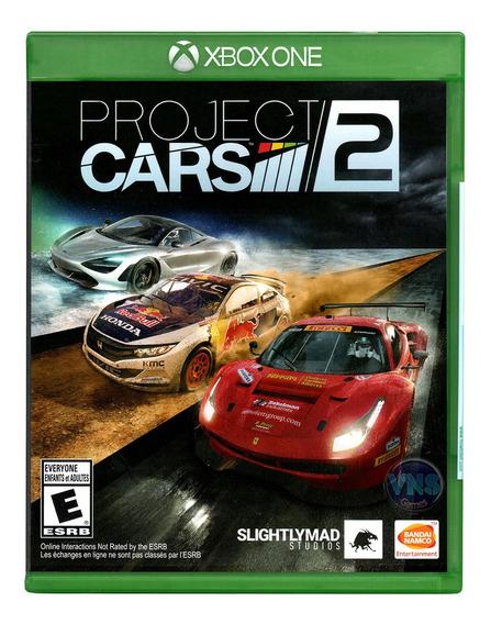 Project Cars 2 - Xbox One - Corrida - Mídia Física - Novo