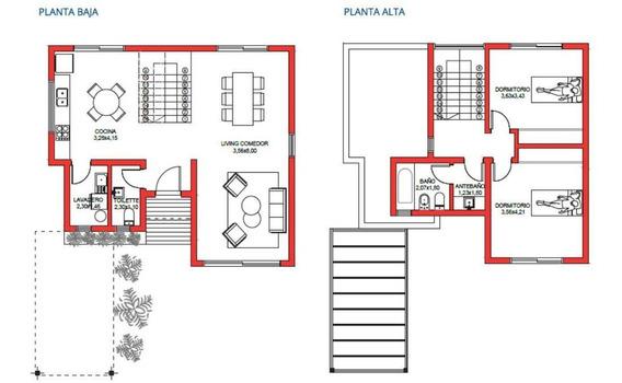 Venta Casa 2 Habitaciones En Barrio Cerrado Moreno Zona Oeste