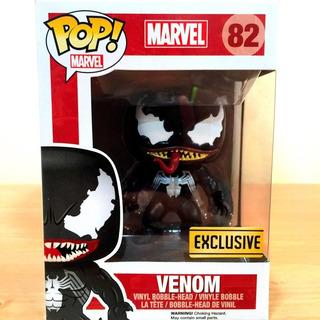 Funko Pop Venom Pelicula Marvel Exclusive 82 Spiderman