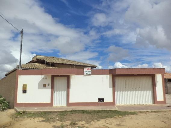 Vende Casa No Bairro Dinah Borges Eunápolis-ba - Cs389v