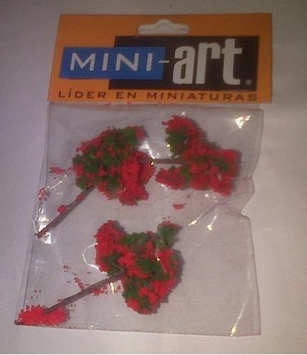 Árboles En Miniatura Para Maqueta Arquitectura.  Mini - Art.