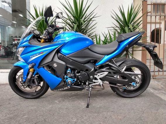 Suzuki Gsx-s 1000 F Azul 2016