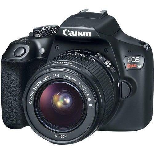 Câmera Canon Eos Rebel T6com Lente 18-55