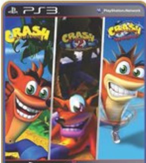 Ps3 Crash Bandicoot Trilogia Play 3 Jogo Em Oferta