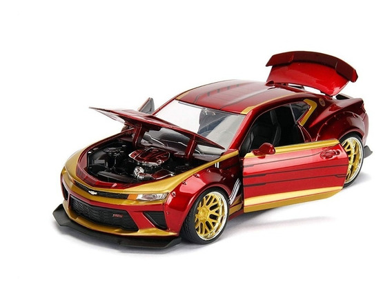 Auto Iron Man Metals Hollywood Rides Chevy Camaro Ss 1:24