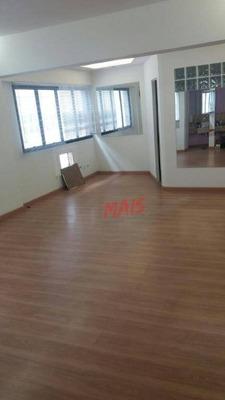 Sala Comercial, 46 M² - Boqueirão - Santos/sp - Sa0050
