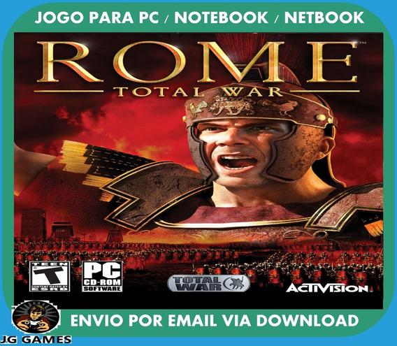Rome Total War Pc Jogo Digital