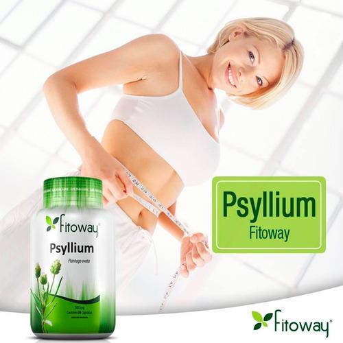Psyllium 500mg - 60 Cápsulas - Fitoway | Mercado Livre