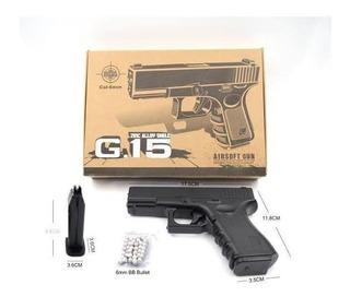 Pistola Galaxy G15 6mm Airsoft