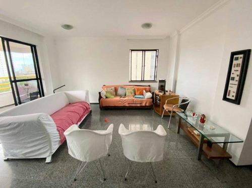 Imagem 1 de 27 de Apartamento Com 4 Dormitórios À Venda, 118 M² Por R$ 510.000,00 - Aldeota - Fortaleza/ce - Ap1969