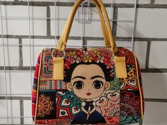 Bolsos Con Estampado De Frida