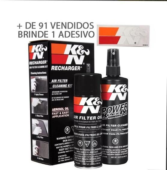 Kit Limpeza Filtro De Ar K&n Squeze Kn 99-5000 Novo Aerosol