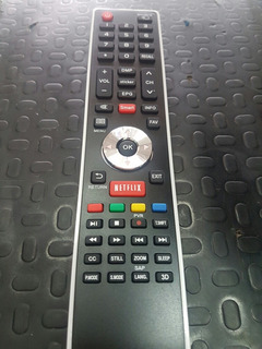 Control Remoto Bgh Hinsense Telefunken Smart Netflix