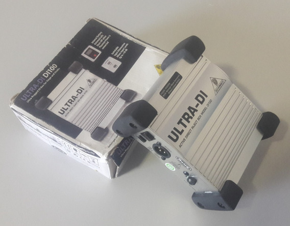Direct Box Behringer Ultra Di Modelo Di 100