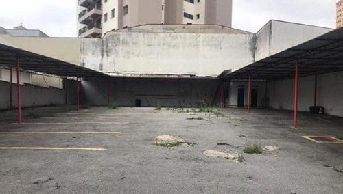 Terreno Para Alugar, 800 M² Por R$ 5.500,00/mês - Centro - Santo André/sp - Te0466