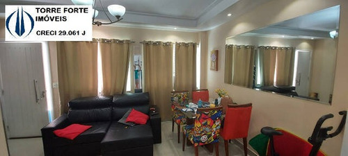 Imagem 1 de 15 de Lindo Sobrado Com 2 Dormitórios, 2 Suítes E 1 Vaga Na Vila Prudente - 2508
