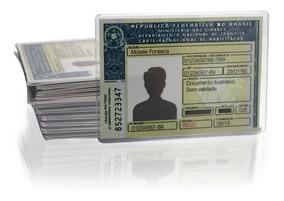 Capa Proteção Documento Cnh Em Acrílico
