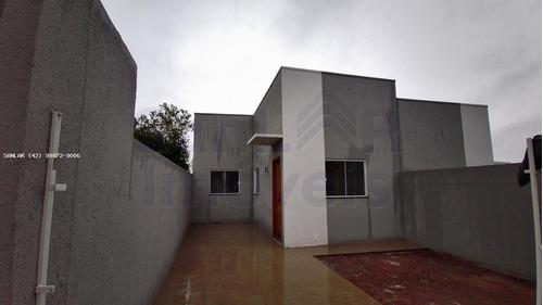 Casa Para Venda Em Ponta Grossa, Contorno, 2 Dormitórios, 1 Banheiro, 2 Vagas - _1-1796405