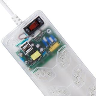 Clamper Multi Energia 8 Tomadas Dps Anti Raio + Usb