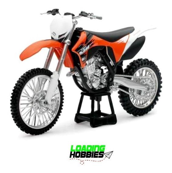 Moto Ktm 350 Sx-f Escala 1:12 New Ray Coleccion Maqueta