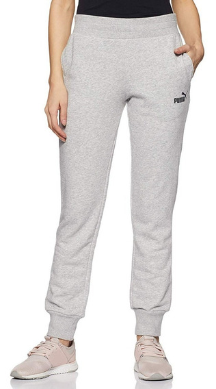 Puma Pantalon Running Mujer Essentials Sweat Gris