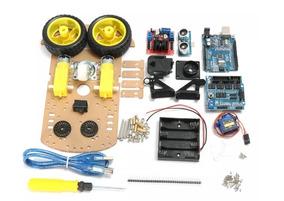Kit Chassi 2wd Rodas Carro Smart Car Robô Projeto Arduino