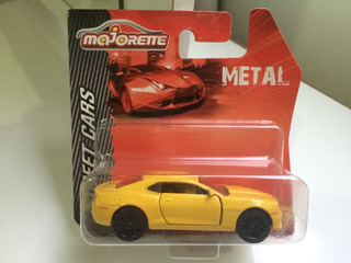 Miniatura De Carro Chevrolet Camaro- Majorette