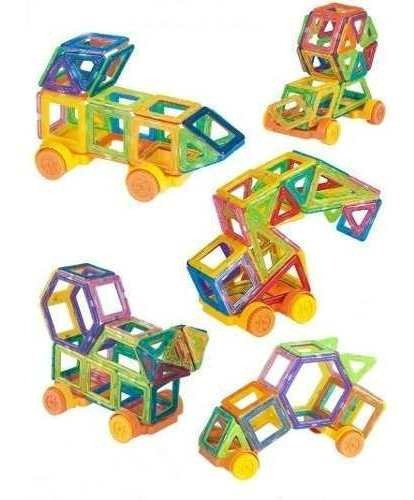 110 Blocos De Montar Infantil Magnéticos Brinquedos Tip Lego
