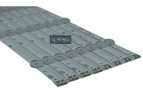 Kit Completo Barras De Led Samsung Un48j5200ag Un48j5200