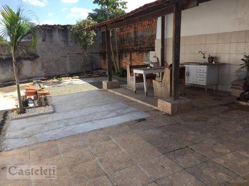Casa Com 3 Dormitórios À Venda, 130 M² Por R$ 430.000,00 - Vila Paraíso - Campinas/sp - Ca2000