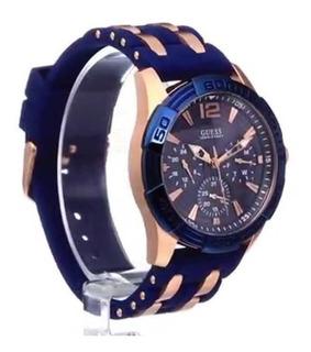 Para Azul Libre Hombre En Relojes Reloj Mercado Guess xerCBWdo