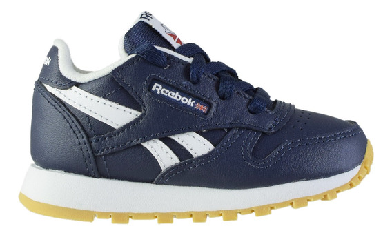 Zapatillas Reebok Classic Leather Bebés Col/wh