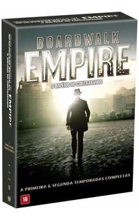Box Dvd Boardwalk Empire Império Do Contrabando - 1ª E 2ª T.