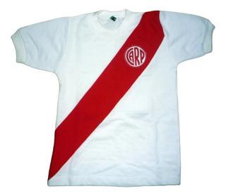 Camiseta De River Retro Para Niños