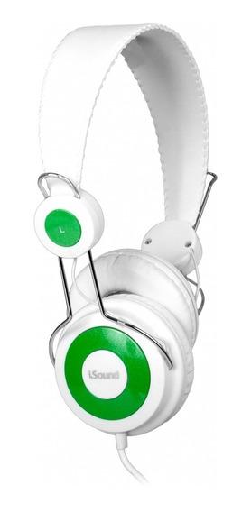 Fone De Ouvido Headphone I-sound Microfone Dghp5505 - Branco