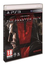 Metal Gear Solid The Panthom Pain Ps3 Mídia Física Lacrado