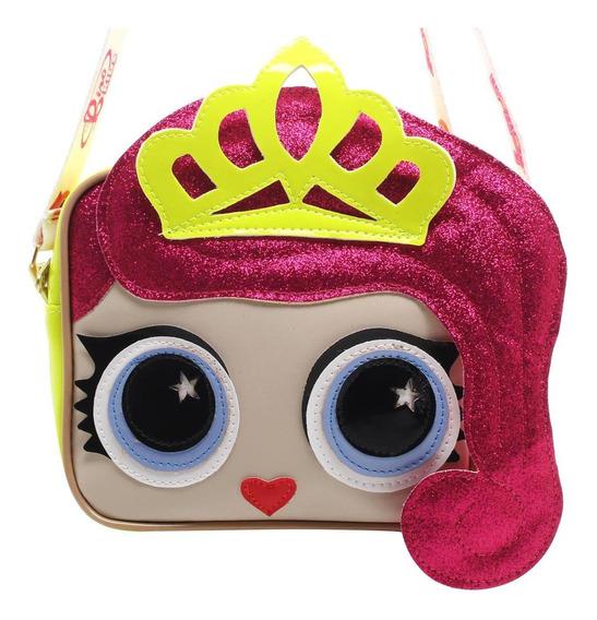 Bolsa Boneca Coroa Neon Lorena Queiroz 10294403