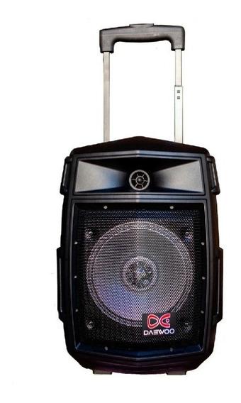 Equipo De Audio Daewoo Trolley Speak Da-5001 8 1500w Bt Fm