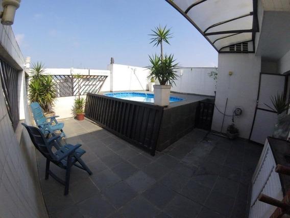 Cobertura Em Macuco, Santos/sp De 212m² 2 Quartos À Venda Por R$ 600.000,00 - Co327072