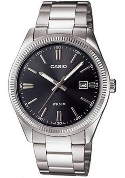 Relógio Casio - Mtp-1302d-1a1vdf - Steel Steel - Grey Dial