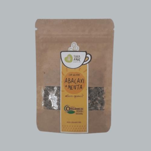 Chá Gelado Abacaxi E Menta Orgânico 15g (01 Unidade)