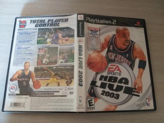 Nba Sports Livestyle 2003 Cd Com As Música Do Jogo Playstation 2