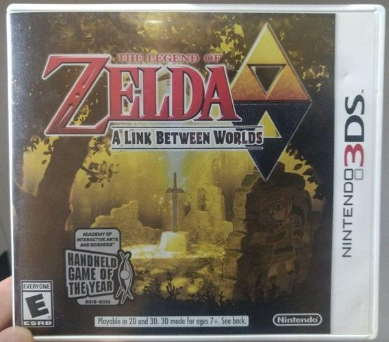 Jogo Legend Of Zelda A Link Between Worlds 3ds Físico