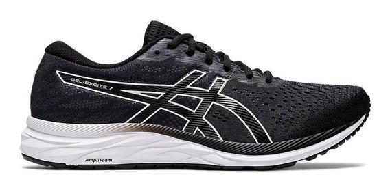 Zapatillas Hombre Asics Gel Excite 7 Negro/blanco - Running