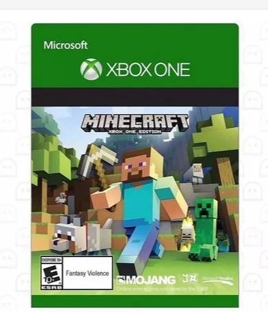 Minecraft Xbox One Código Xboxlive 25 Dígitos R$ 130,00